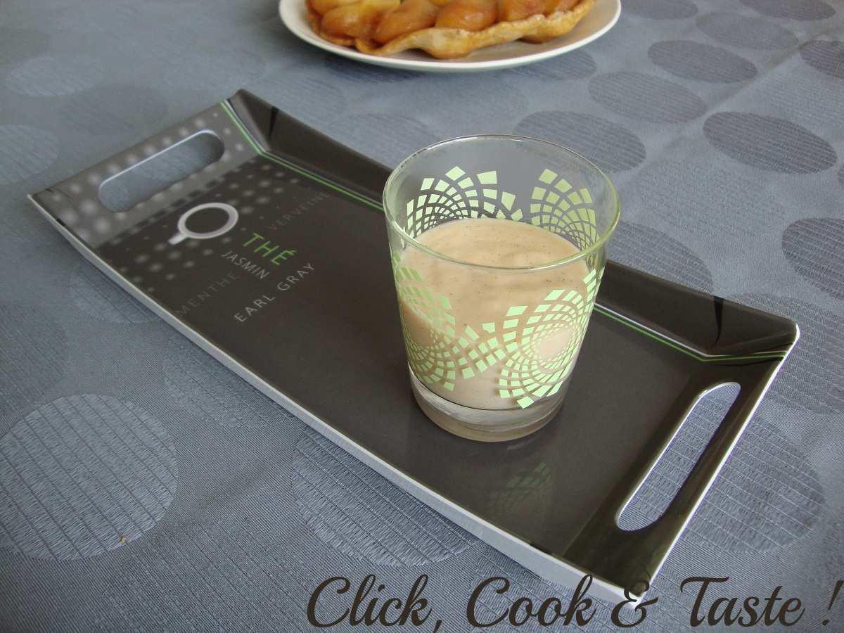 Crème dessert façon tatin (danette)