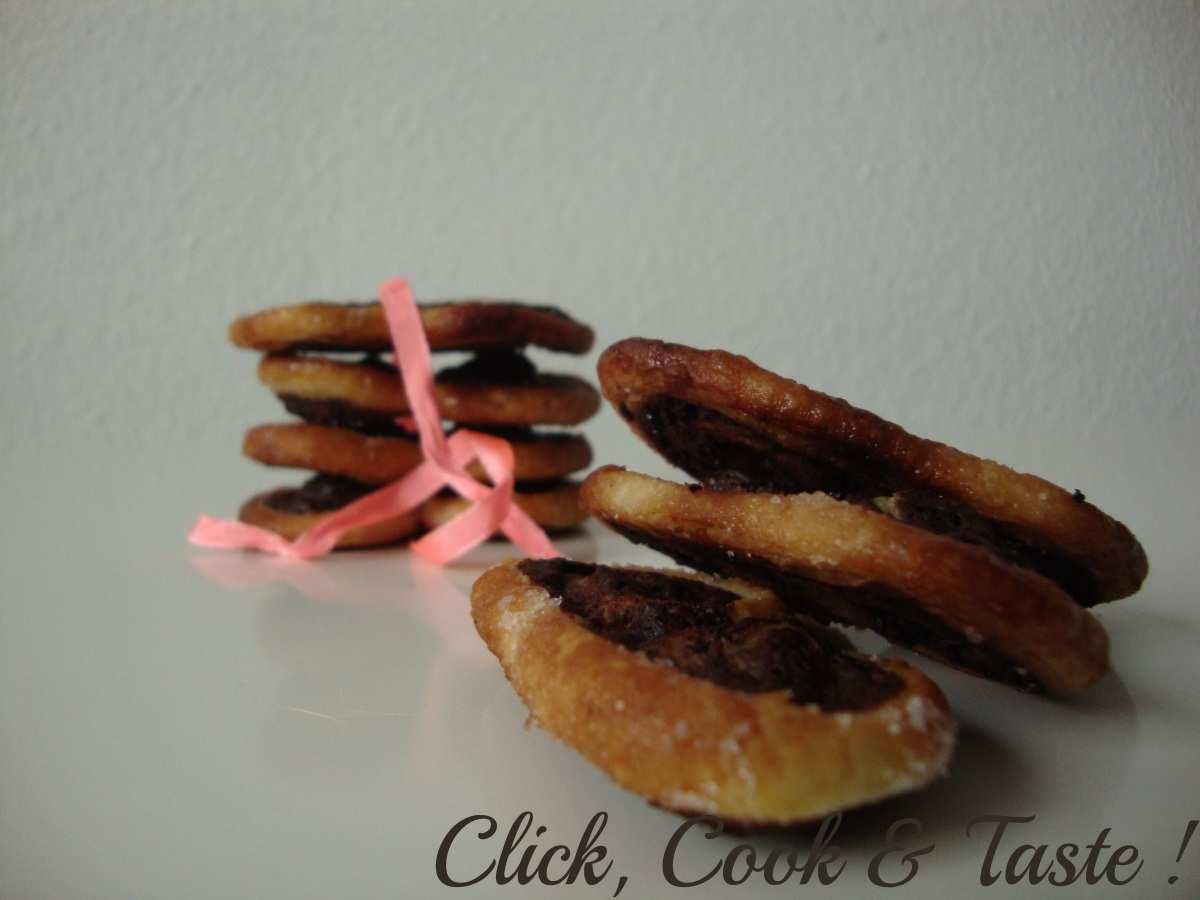 Palmiers chocolat (façon Palmito)