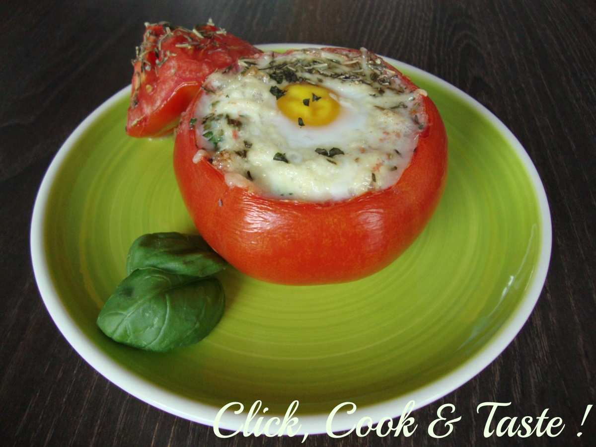 Oeuf cocotte en tomate