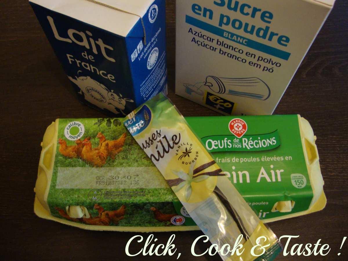 Glace vanille - glace cannelle (avec sorbetière)