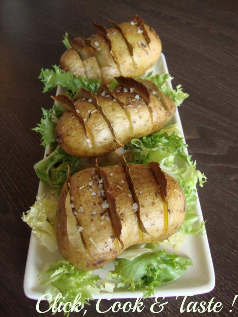 Pommes de terre parfumées au laurier