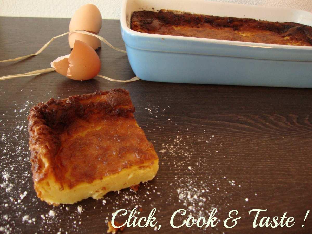 Flan pâtissier (gâteau flan)