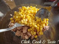 Salade de haricots jaunes