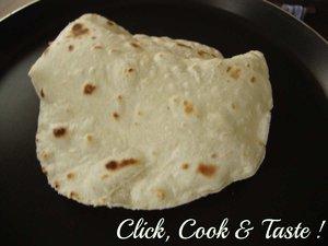 Galettes de blé (pour wraps ou tortilla)