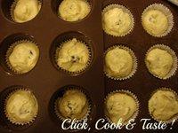 Mignardises aux pépites de chocolat