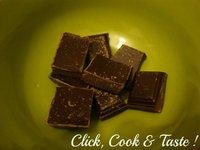 Feuilleté poire - chocolat et chantilly
