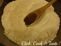 Crêpes (pâte à crêpes)