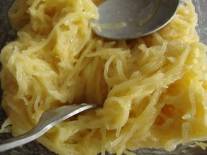 Galette de courge spaghetti