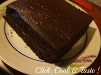 Layer cake terriblement chocolat
