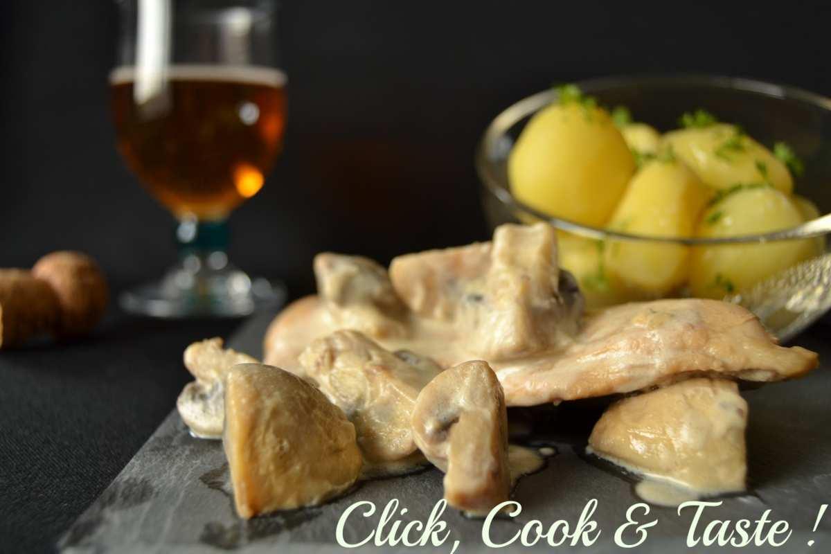 Escalopes normandes au cidre