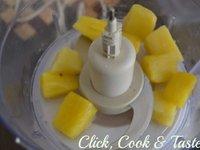 Macarons ananas - mangue