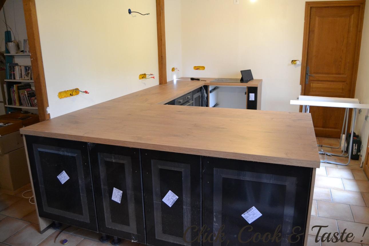 Habillage De Meuble De Cuisine installation d'une cuisine (ixina) | click, cook and taste !